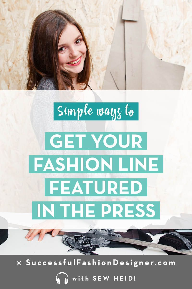 Fashion Marketing 101 How To Get Publicity For Your Fashion Line Fashion Marketing Fashion Line Fashion Design Jobs