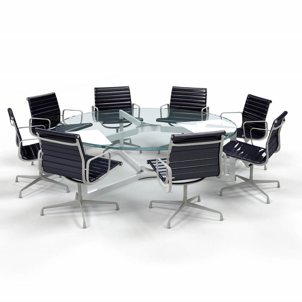 Round glass table top view stylish glass table top  inch round  inch thick beveled tempered