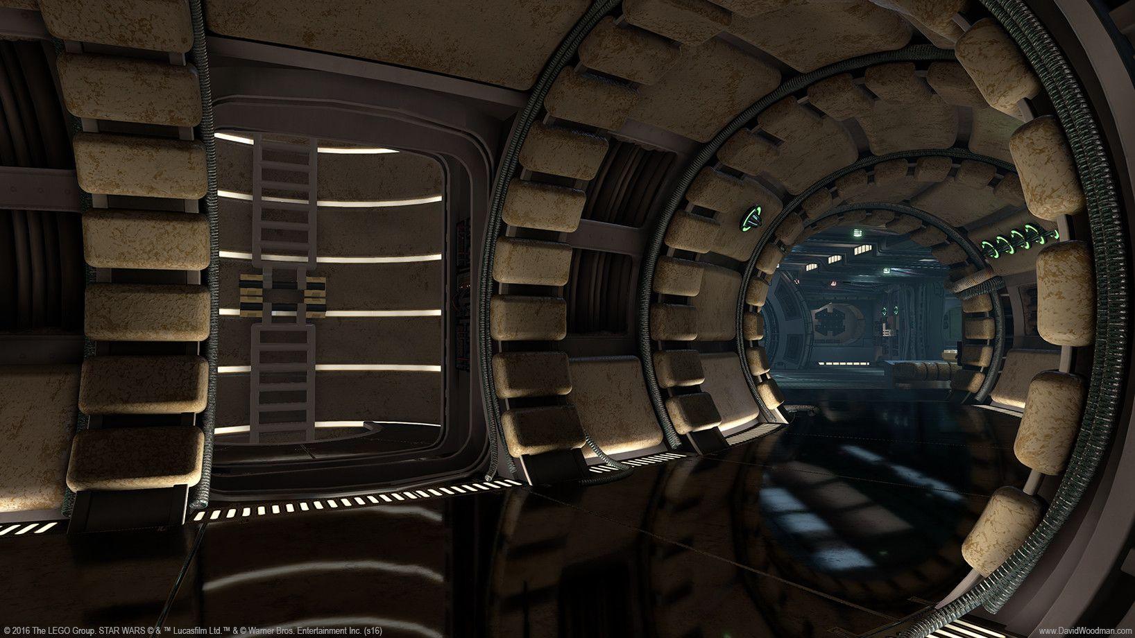 image result for millennium falcon interior starships