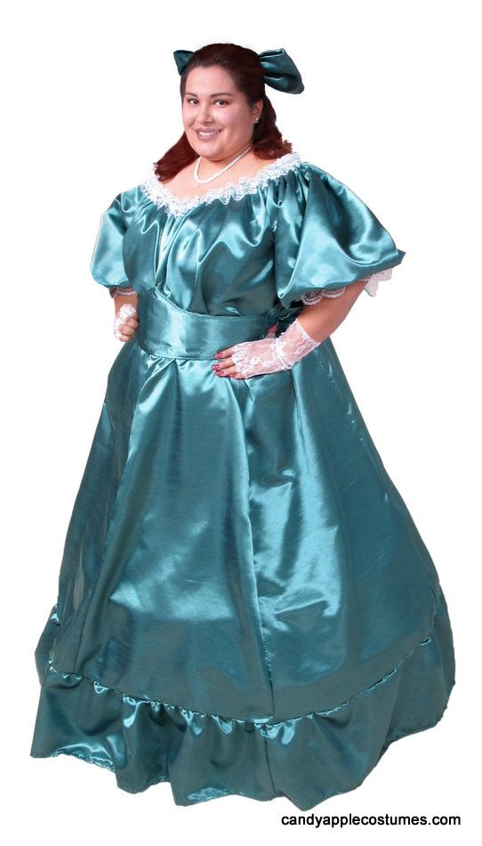 89505b4399bc Deluxe Plus Size Southern Belle Costume - Candy Apple Costumes - XXXL and  XXXXL Costumes