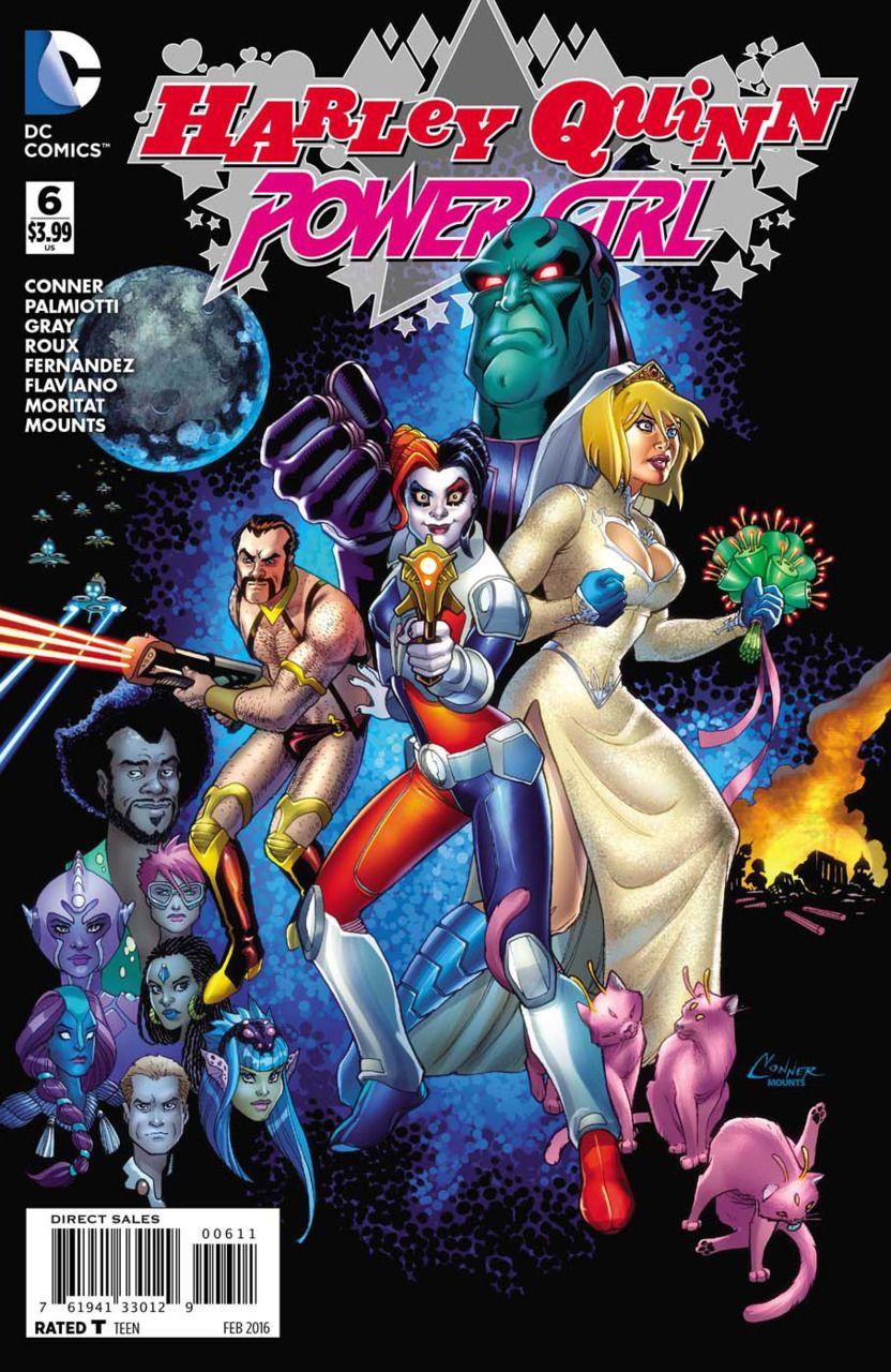 harley quinn power girl 6 y último mags pinterest comic