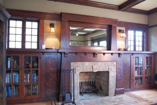 Creative Craftsman Fireplace Design Nester Pinterest Craftsman