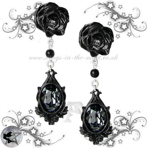 Dark Desires Gothic Earrings By Alchemy Http Wings In