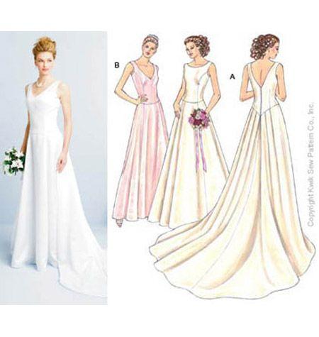 Kwik Sew Wedding Dress Patterns | Wedding