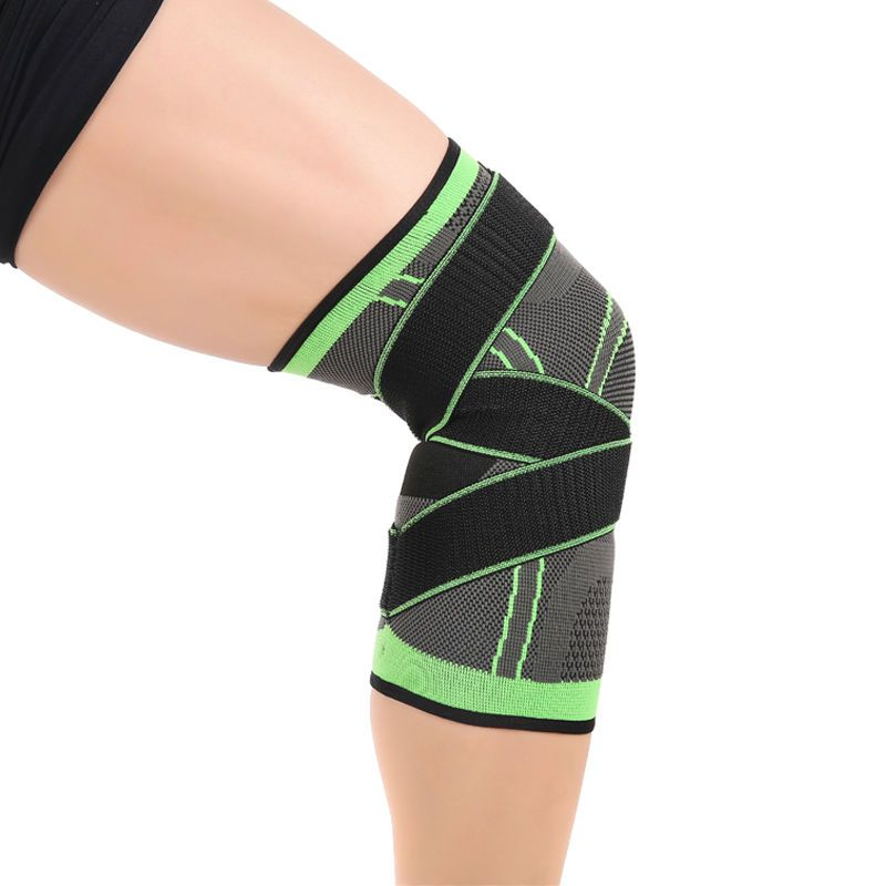 3d Weaving Bandage Knee Support Brace Compression Guard Protector Wraps Sports Knee Compression Sleeve Knee Support Braces Knee Support Sleeve