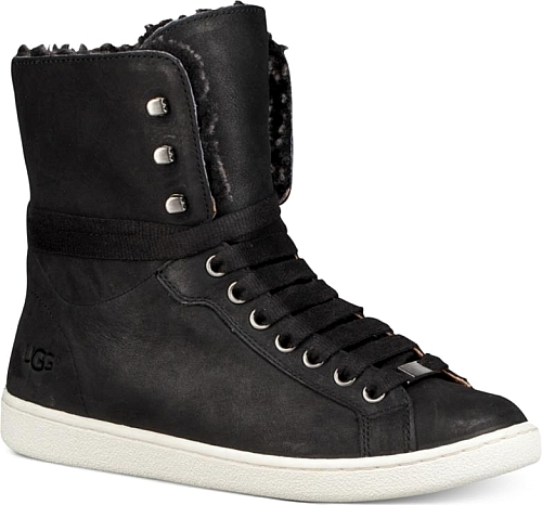 Ugg Starlyn High-Top Lace-Up Sneaker