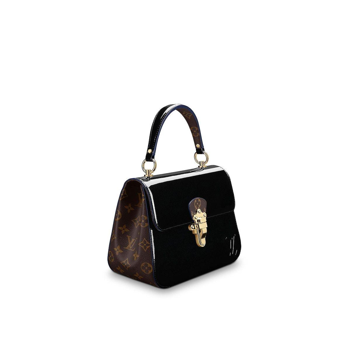 9542f55519c6 View 2 - Patent Leather HANDBAGS Top Handles Cherrywood PM