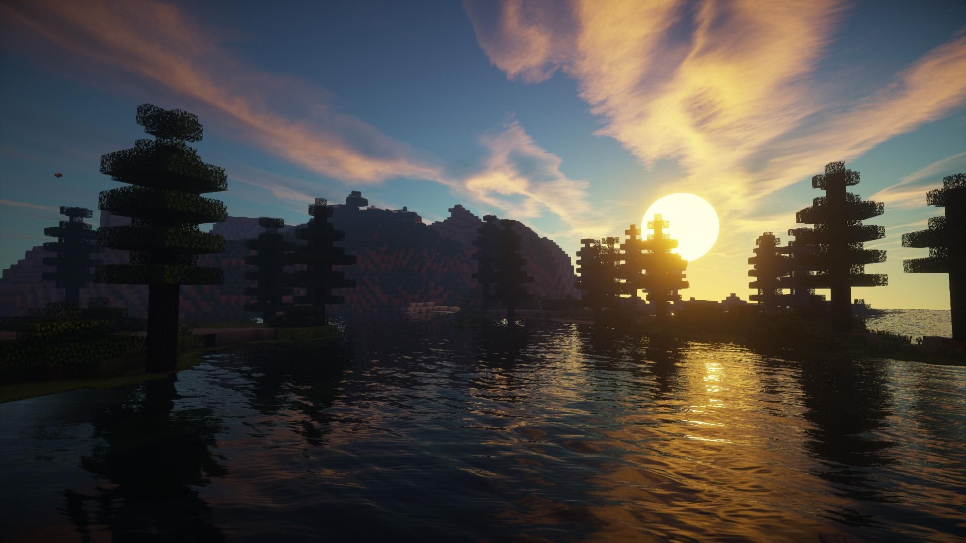 minecraft shaders mod pic of rain Google Search Fondos
