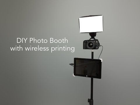 How to build a diy cardboard photo booth with ipad kiosk and how to build a diy cardboard photo booth with ipad kiosk and wireless printing youtube solutioingenieria Images