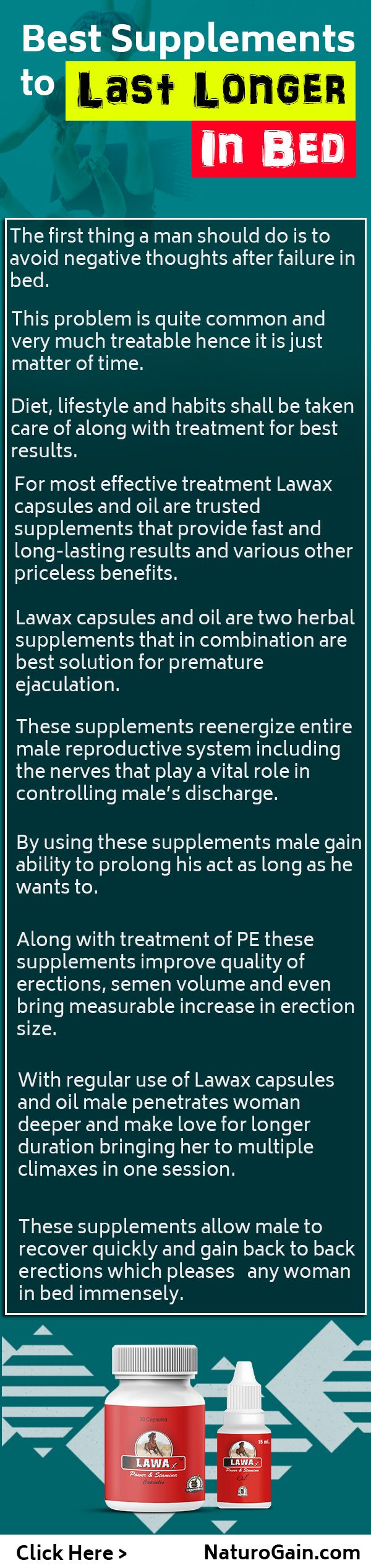 In this infographic, Know about natural supplements to