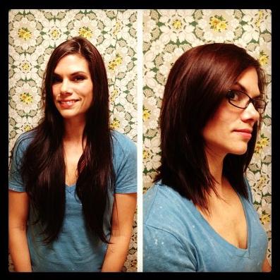 roxiejanehunt | HTHG DIY haircuts are happening #diyhaircut