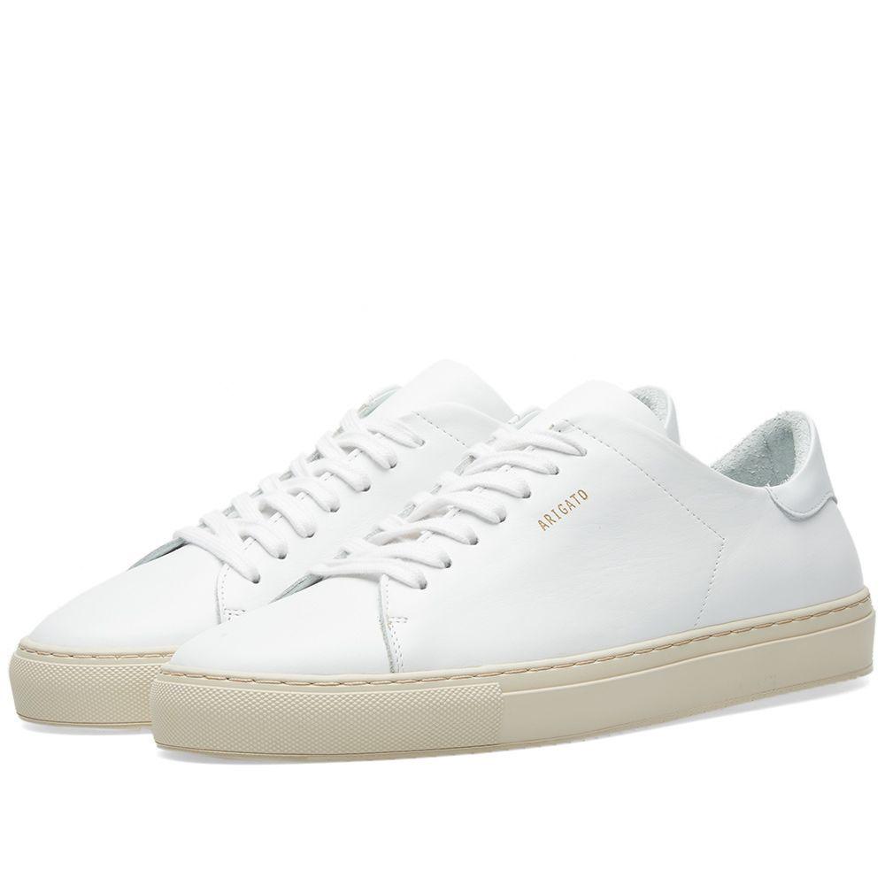 Axel arigato clean 90 colour sole sneaker sneakers calf