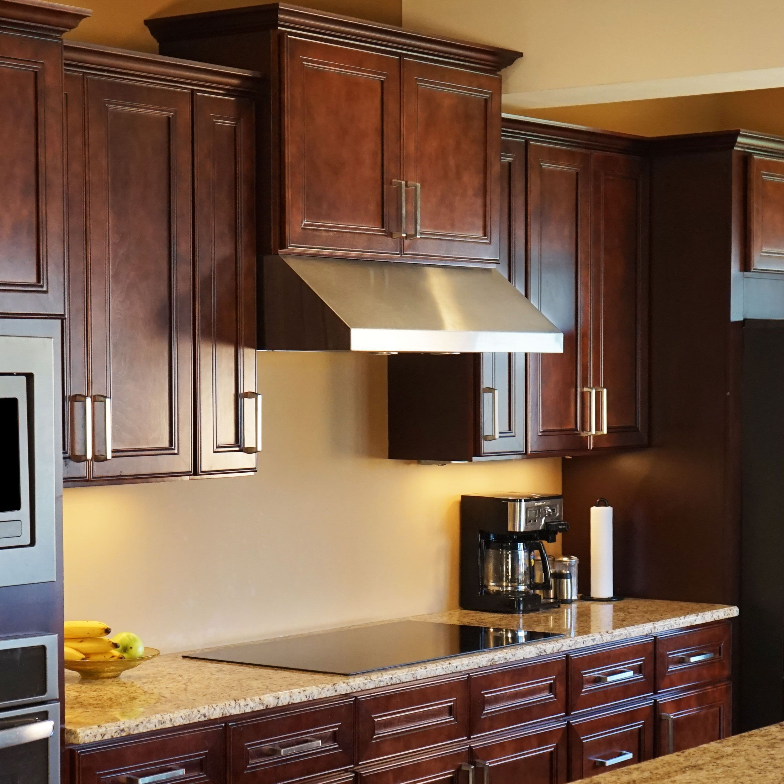10x10 Kitchen Cabinets Bundle In Shaker Espresso With Soft Close Drawers Doors Everyday Cabinet Kitchen Cabinets U Shaped Kitchen Cabinets Mahogany Kitchen