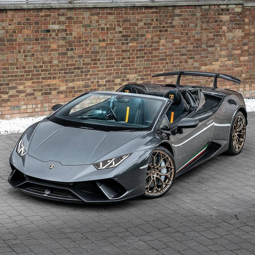 Lamborghini Huracan Performante Spyder Sports Cars
