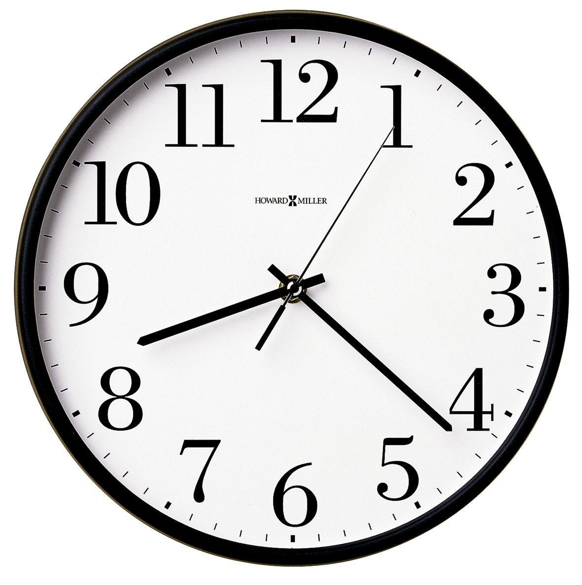 Office Mate 10 5 Wall Clock Office Wall Clock Howard Miller Wall Clock Wall Clock