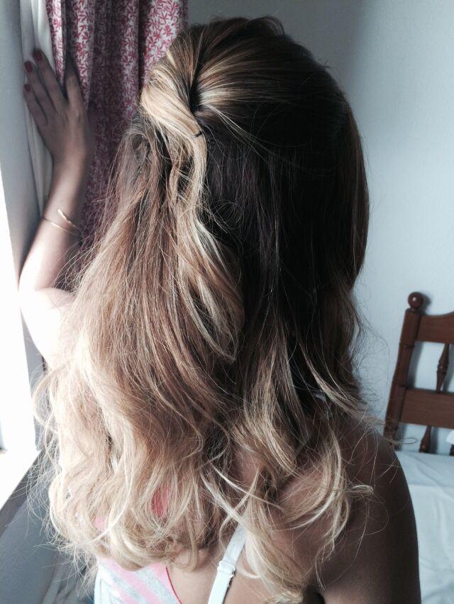 Homemade Hair Style Bridesmaid Homemade Hair Products Hair Styles Hair