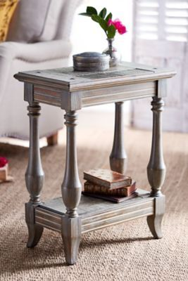 Portola Side Table Living Room Items French Country