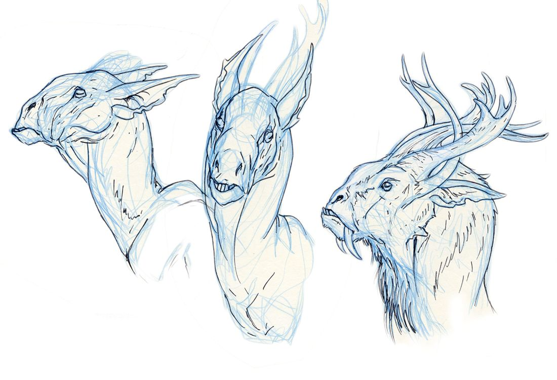 creature character spot animation fans artists references