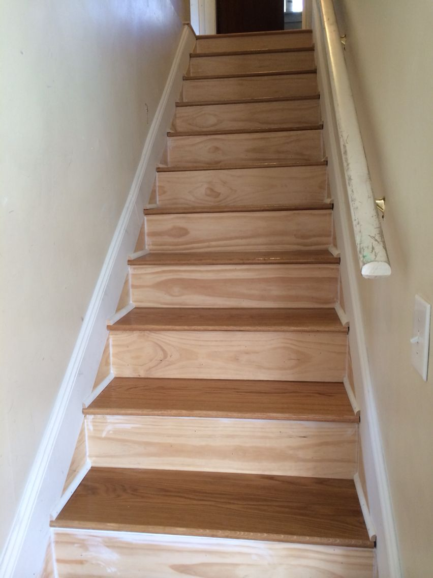 Custom White Oak Stair Treads Made By Snhwoodworks Llc Www | White Oak Stair Treads Near Me | Hardwood Flooring | Quarter Sawn | Lowes | Wood | Staircase Railings