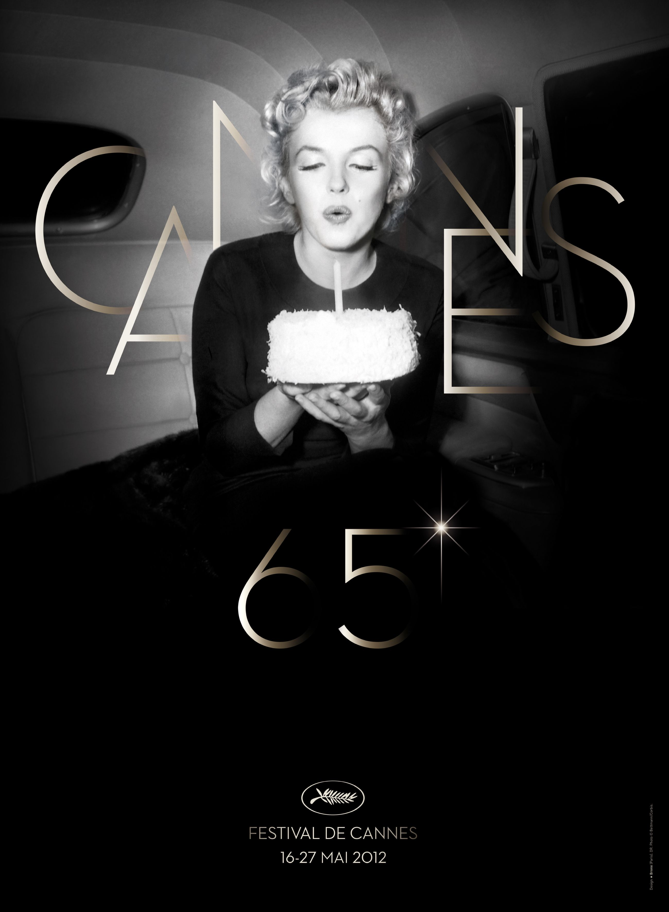 65 years Cannes - 50 years Marylin