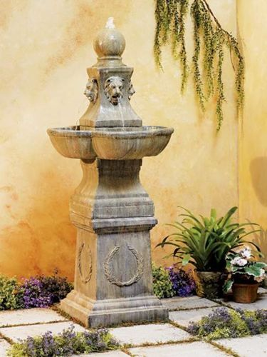 Details About Outdoor Wall Water Fountain 31 High Lion Head