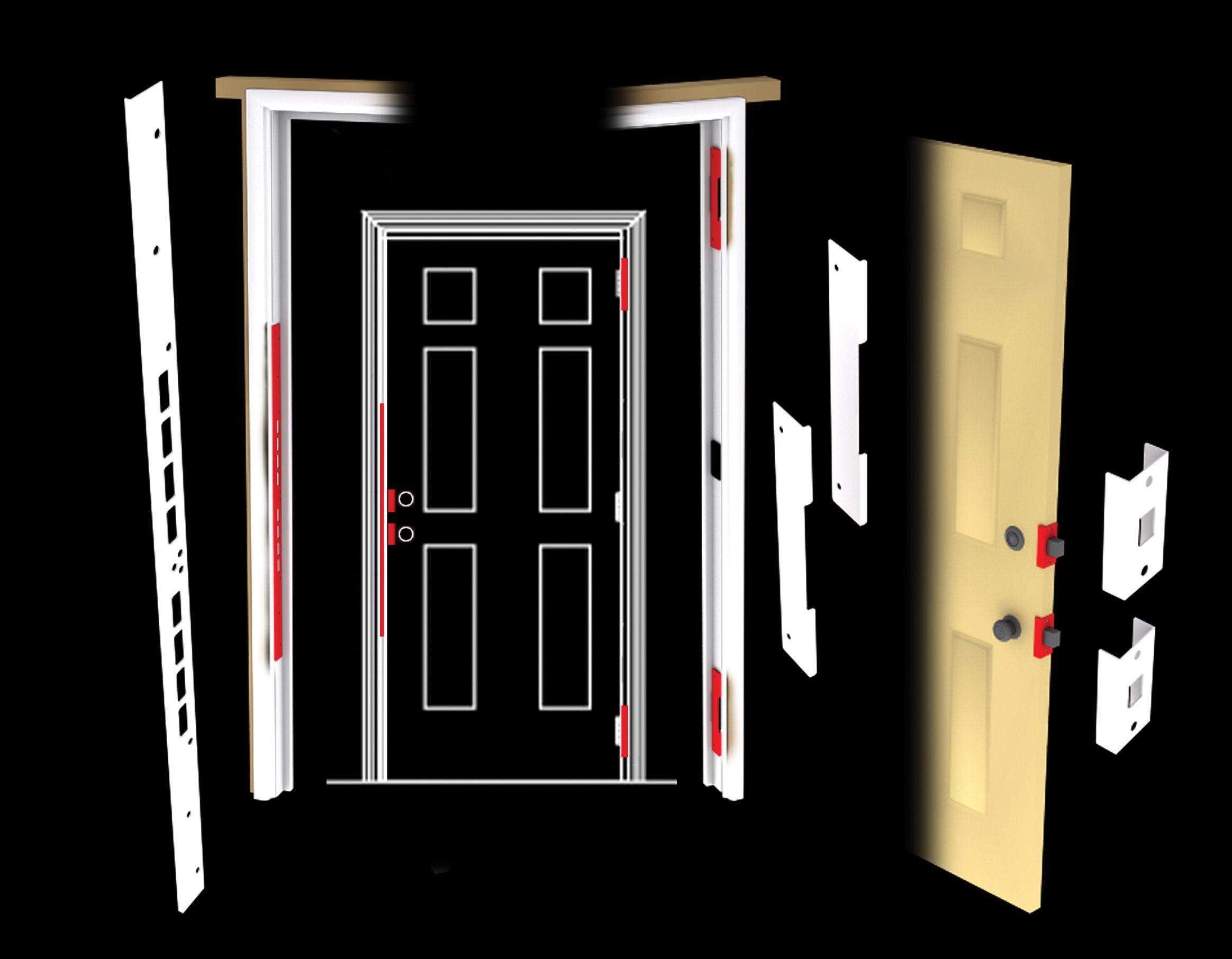 Ezarmorkit Doomsday Security Door Home Security Alarm System Door Alarms