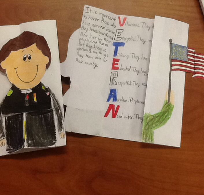 great idea for veteran s day have the students write an acrostic