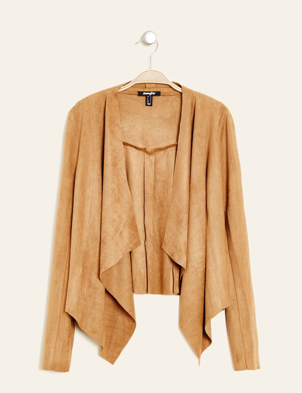 Veste tailleur camel femme