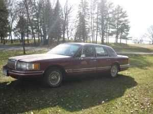 1993 Lincoln Towncar 4000 Rochester Mn