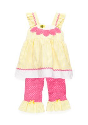 19d41b786 Nanette Nanette Lepore™ Girls  2-Piece Bumble Bee Jumper And ...