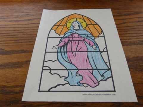 Catholic Saint Coloring Pages  Catholic saints Saints and