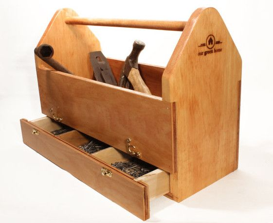 Large wooden tool box pinteres for Wood chest plans free