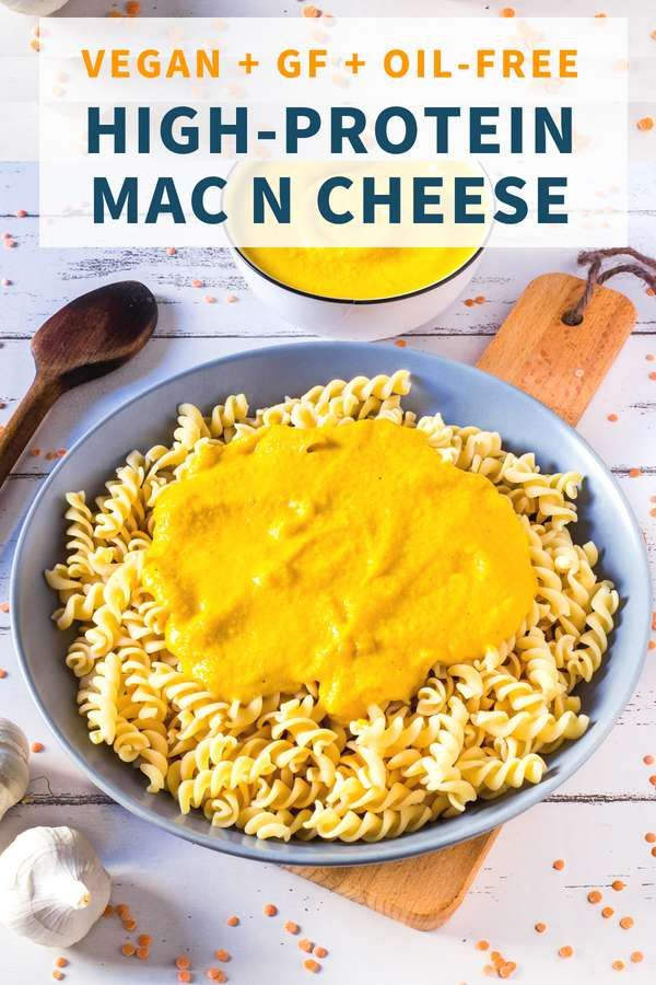 High Protein Vegan Mac And Cheese Healthy Gluten Free