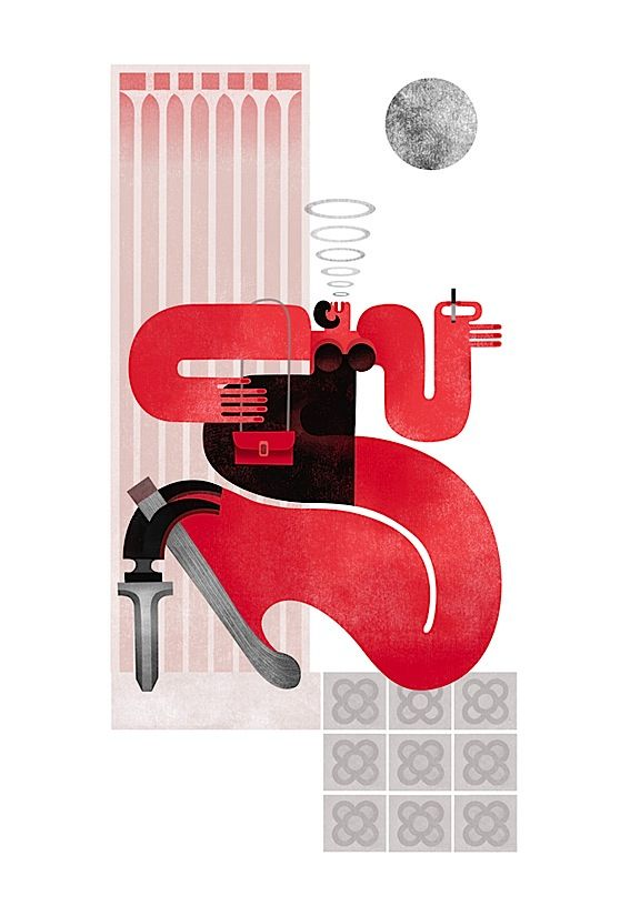 Editorial Illustrations by Maria Corte