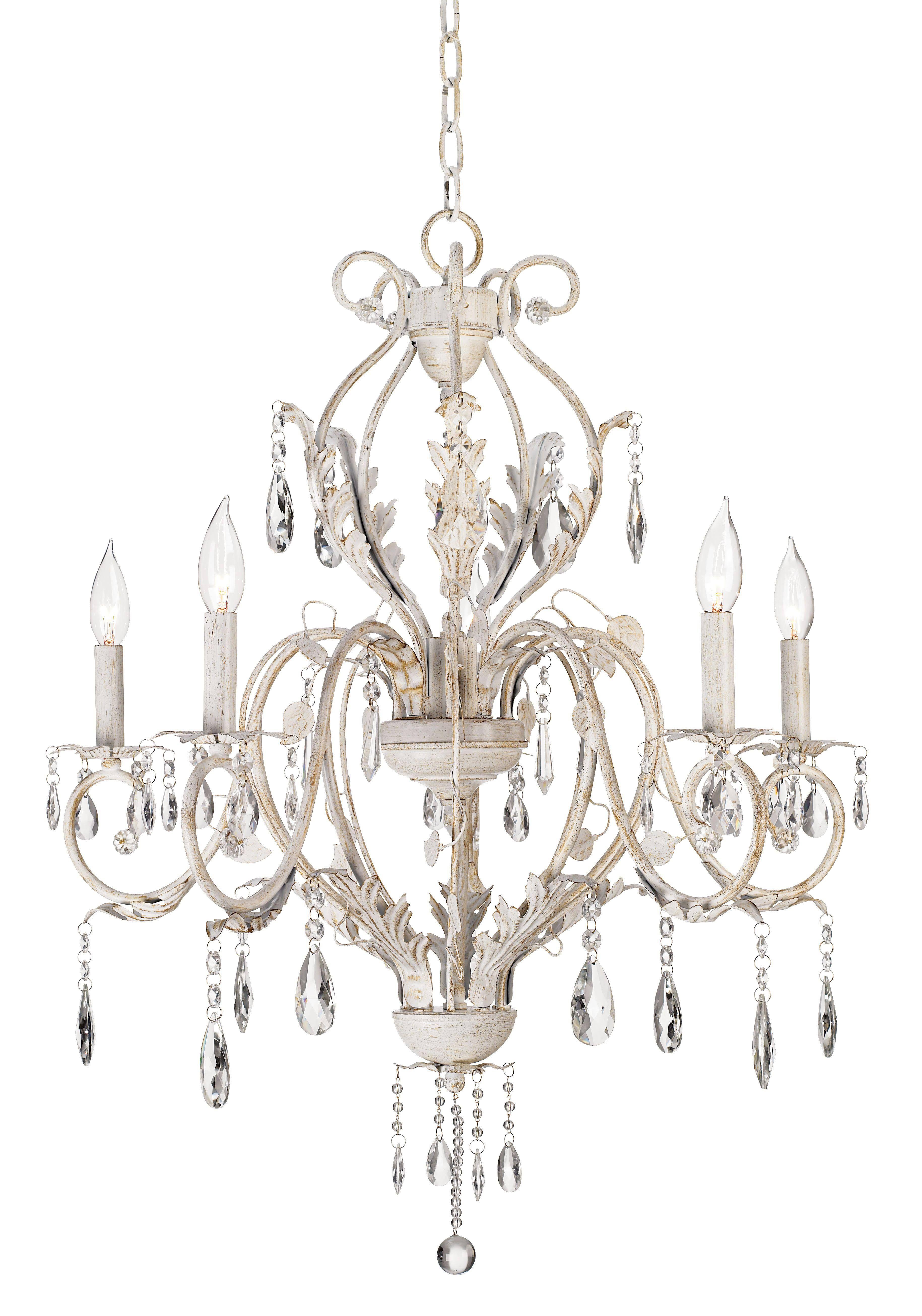 399 kathy ireland devon 5 light antique white crystal chandelier 399 kathy ireland devon 5 light antique white crystal chandelier 76475 arubaitofo Gallery