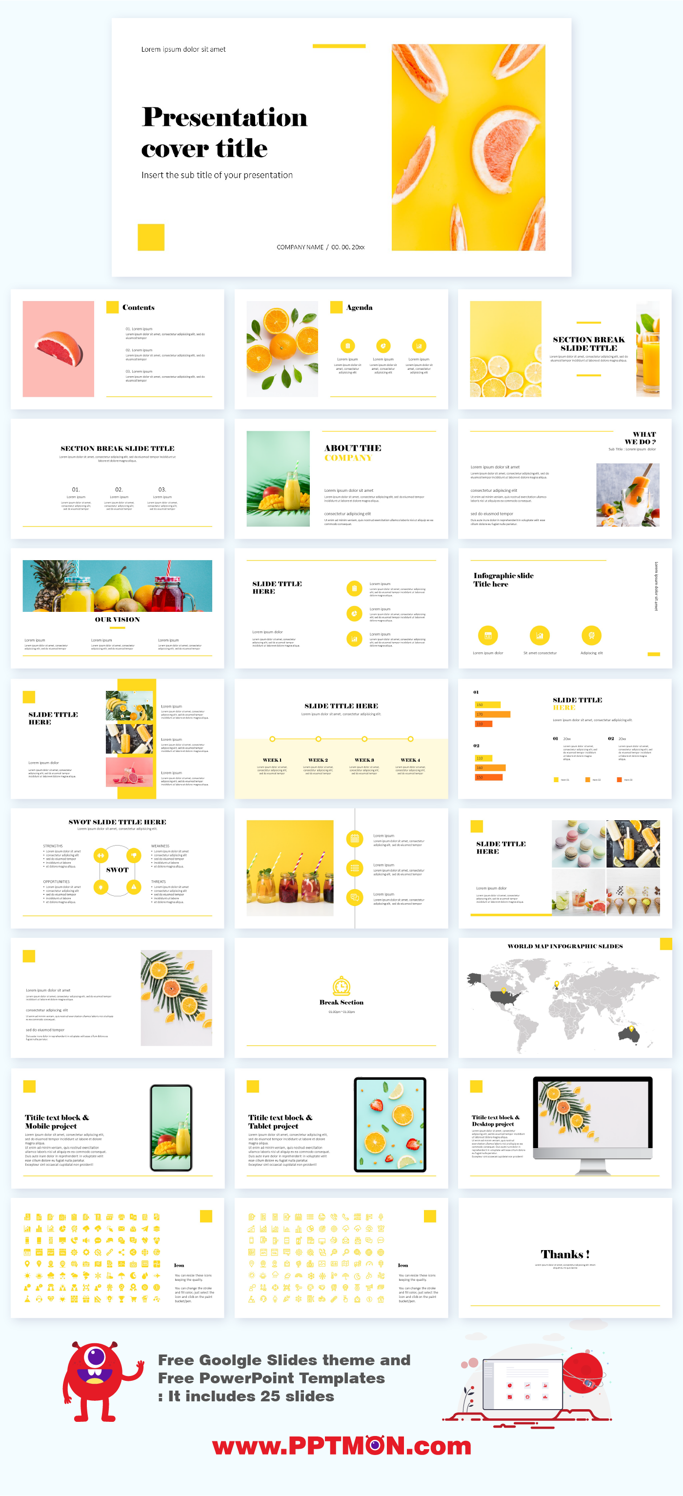 Minimal Slide Presentation Templates Free Google Slides Theme And Pow In 2020 Presentation Slides Templates Presentation Template Free Free Powerpoint Presentations