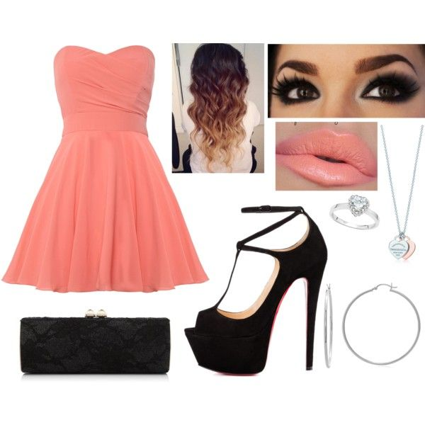 Untitled #1345 by beau-4-ever on Polyvore featuring polyvore, fashion, style, TFNC, Talitha, Jimmy Choo, Allurez and Sterling Essentials