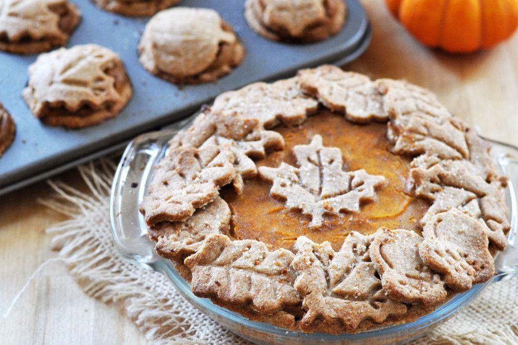 Vegan Pumpkin Pie With Decorative Spelt Crust Recipe Vegan Pumpkin Vegan Pumpkin Pie Vegan Sweets