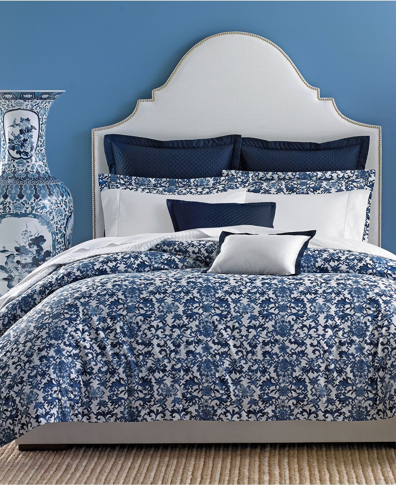 Ralph Lauren Dorsey Bedding Collection   Bedding Collections   Bed U0026 Bath    Macyu0027s