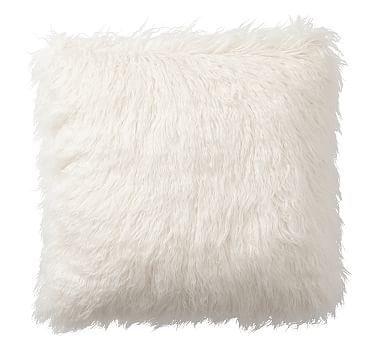 Faux Fur Mongolian Pillow Covers Fur Pillows Pinterest Fur