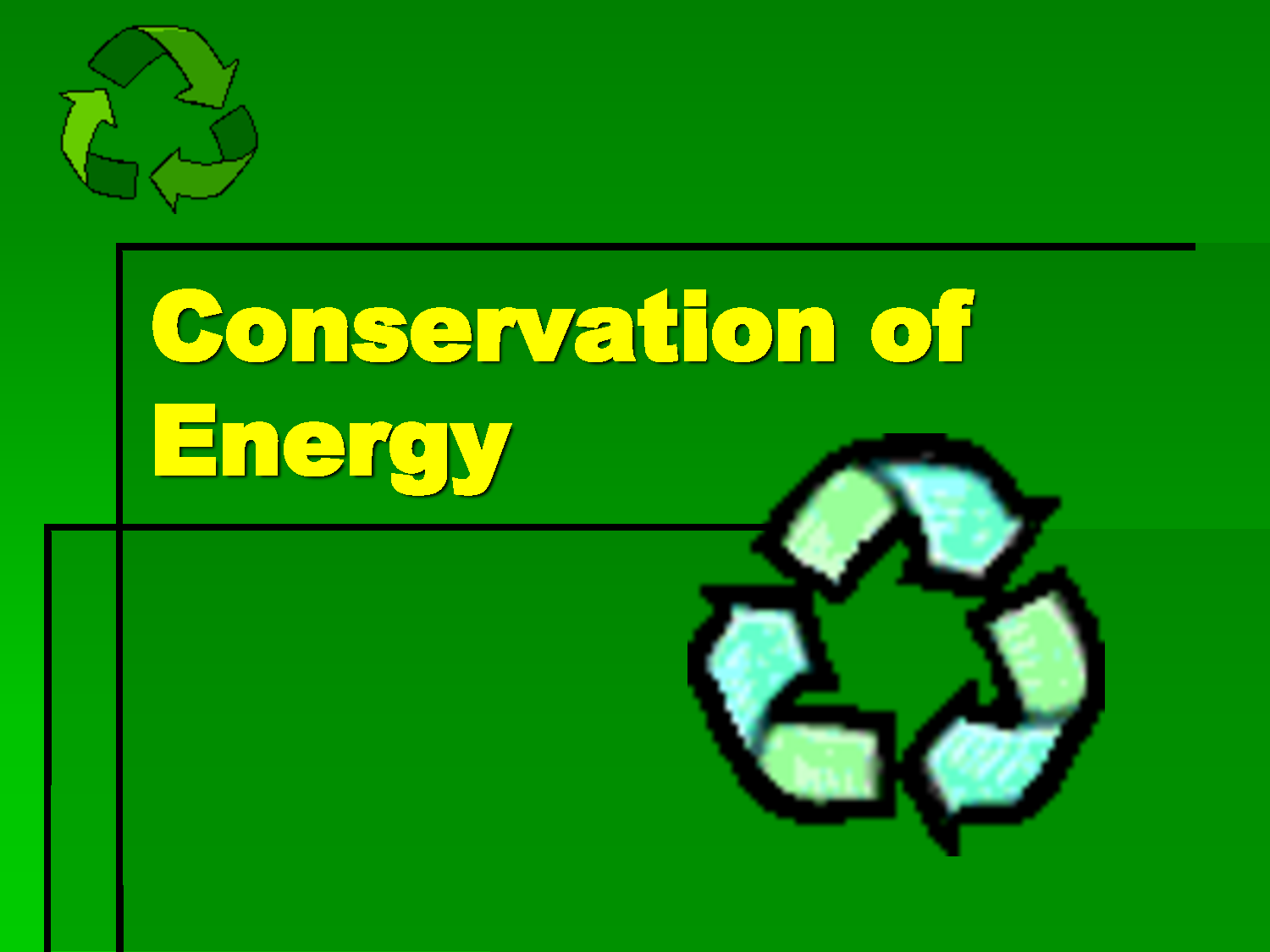 Define Conservation Of Energy