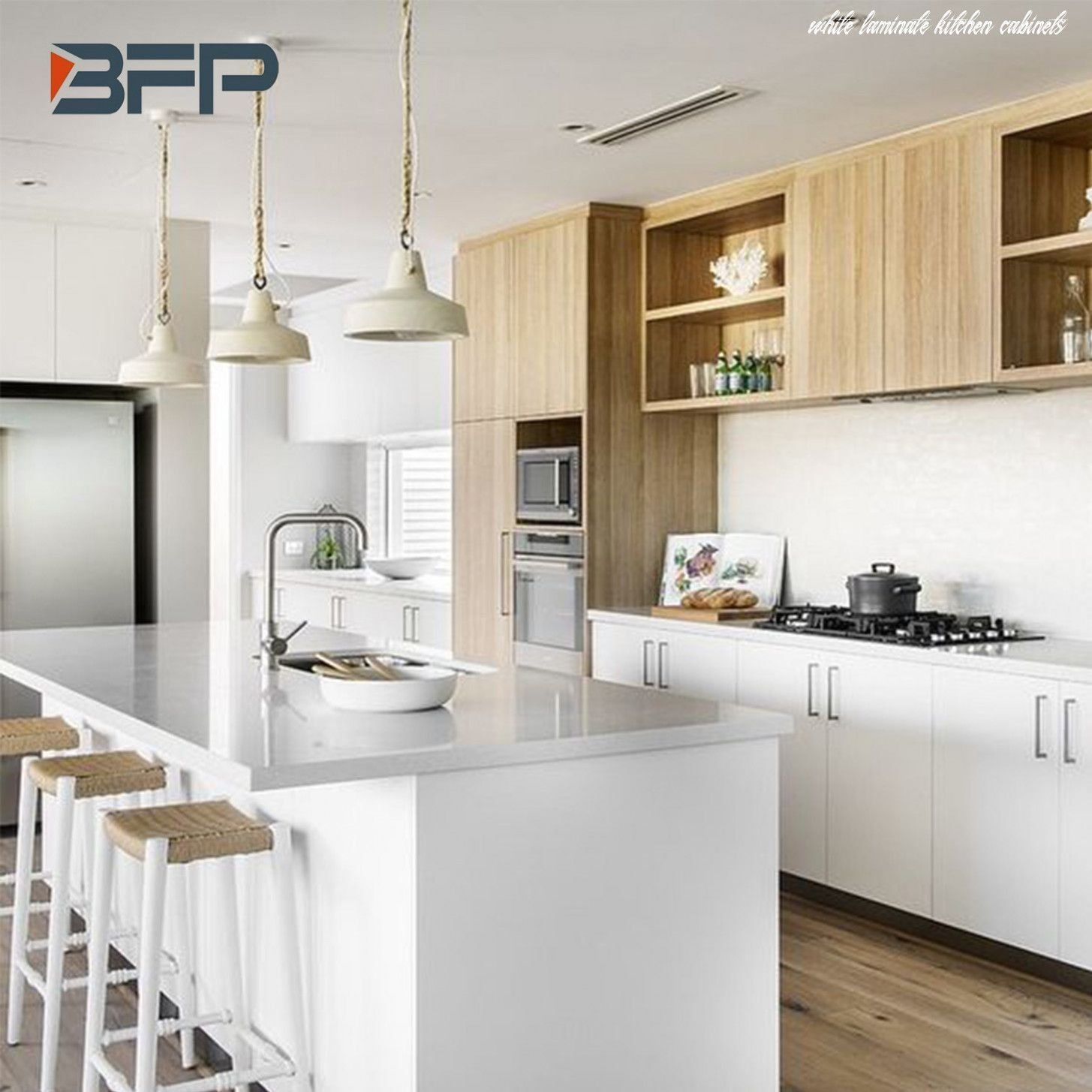Why White Laminate Kitchen Cabinets Had Been So Popular Till Now 1001 In 2020 Laminate Kitchen Kitchen Interior Laminate Kitchen Cabinets