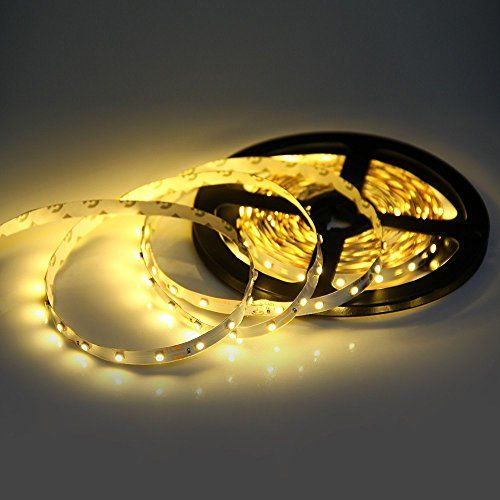 12V Waterproof Led Light Strips Magnificent $1499  12V Waterproof Led Strip Lights Tape 24W 5M 300 Light Bulbs Review