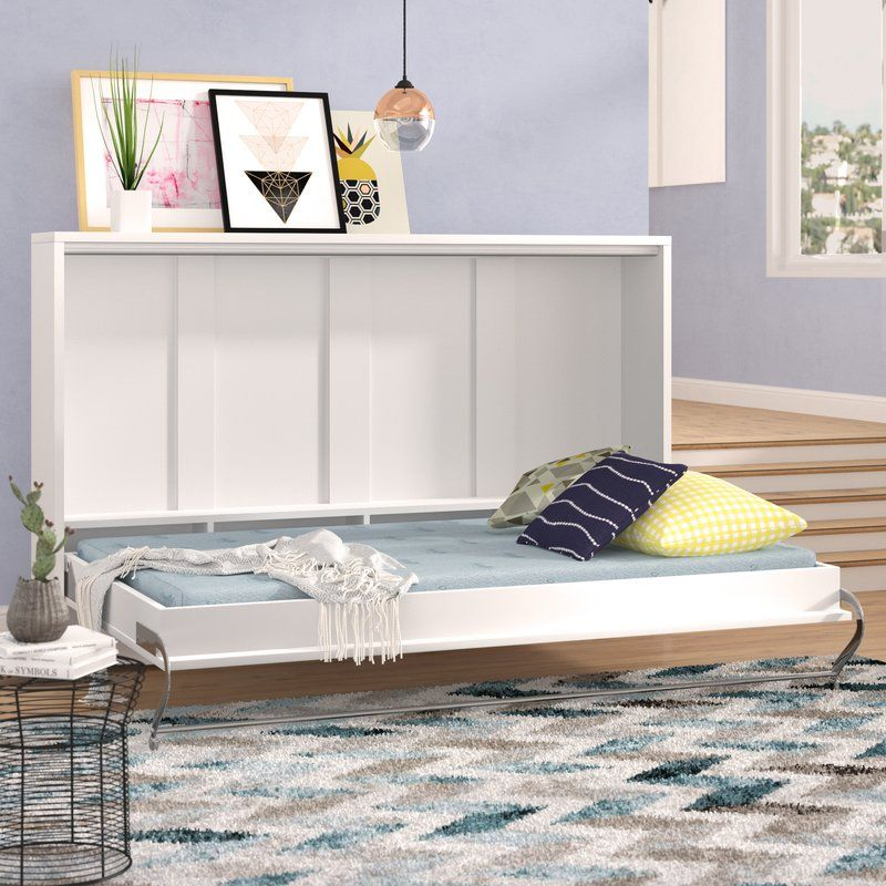 Clearwater Murphy Twin Bed with Mattress (With images