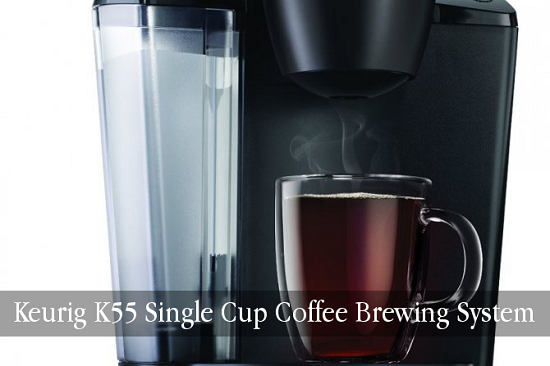 Keurig K55 Elite K Cup Coffee Maker First Cup Fourth Cup With