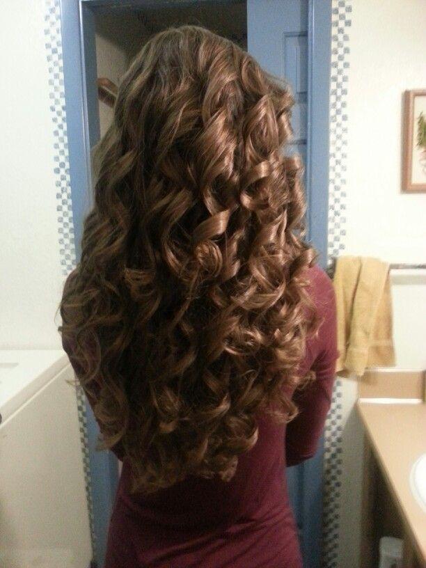 Thick Hair Curls Curls For Long Hair Thick Hair Styles Hair