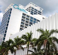 MiMo Architecture in North Beach Resort Historic District (Miami Beach, Florida)