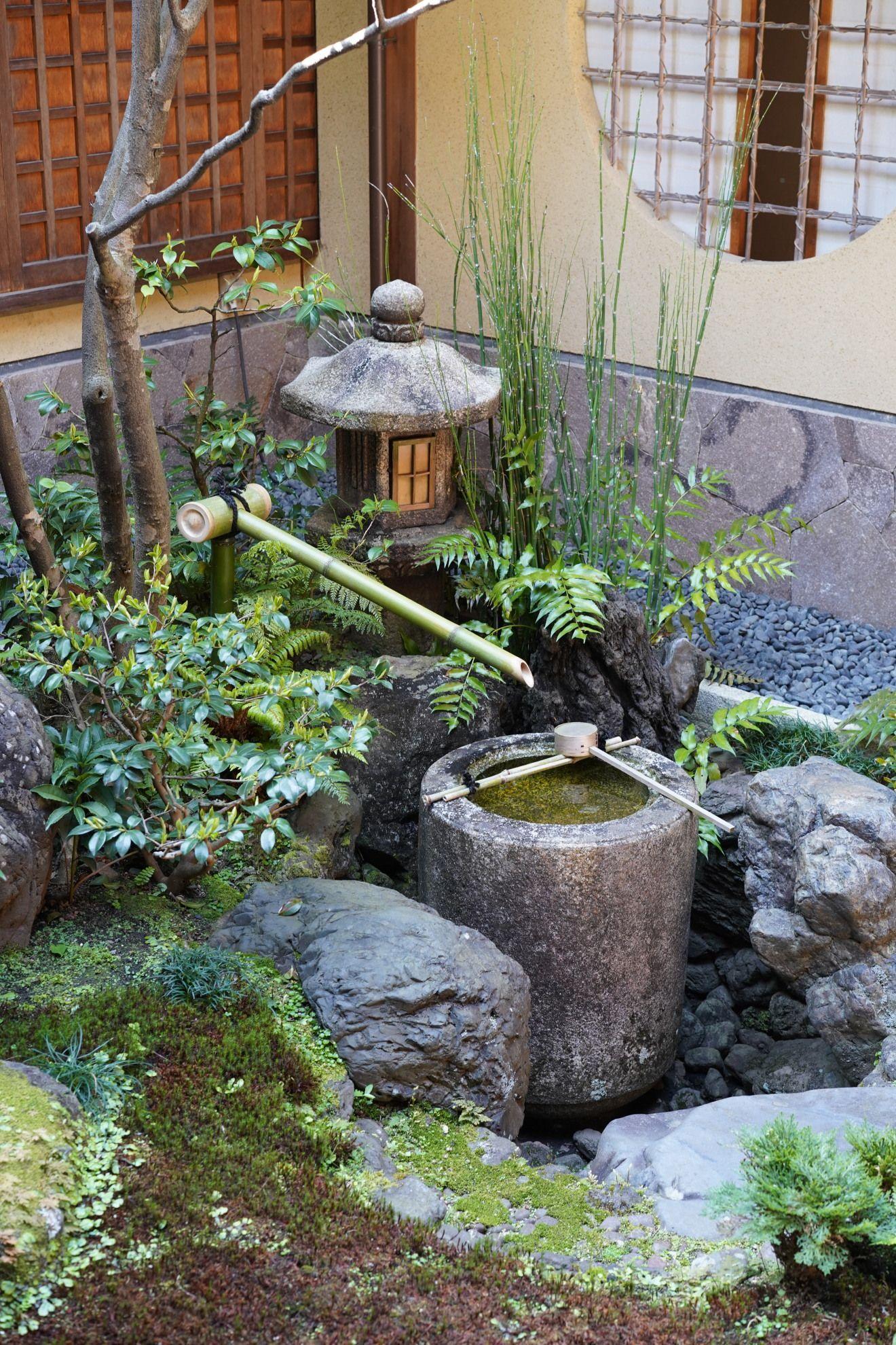 Homaredayagenbei Chouzubachi 譽田屋源兵衛 手水鉢 Asian Garden