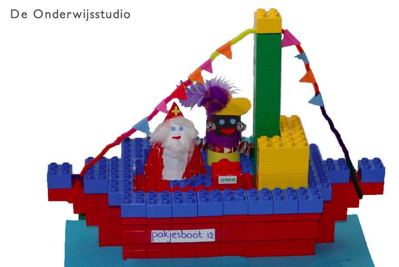 De Onderwijsstudio - Pakjesboot van Duplo