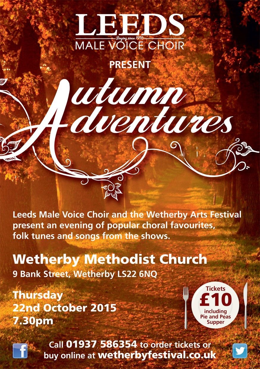 A sneak preview of our latest poster. Autumn Adventures. October 2015. #ComingSoon